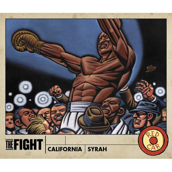 Red Car The Fight Syrah 2002 Front Label