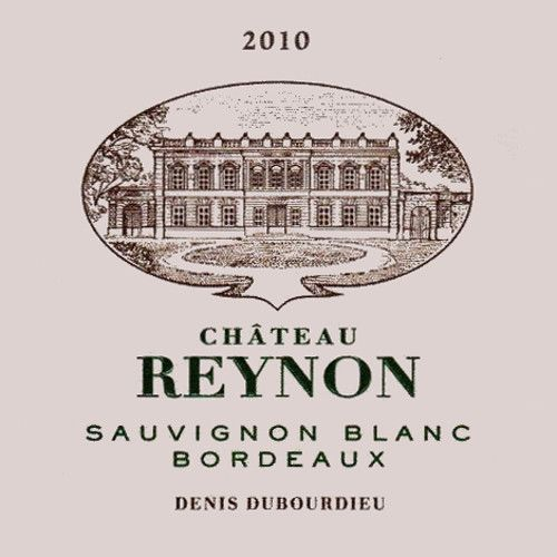 Chateau Reynon Blanc 2010 Front Label
