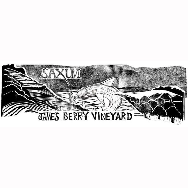 Saxum James Berry Vineyard 2010 Front Label