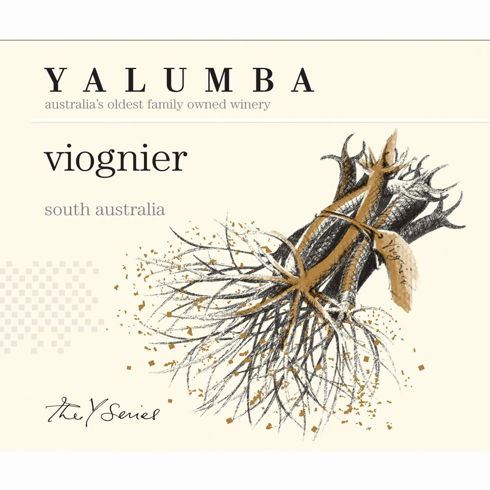 Yalumba Y Series Viognier 2012 Front Label