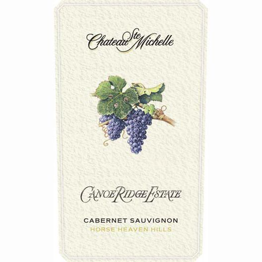 Chateau Ste. Michelle Canoe Ridge Estate Cabernet Sauvignon 2010 Front Label