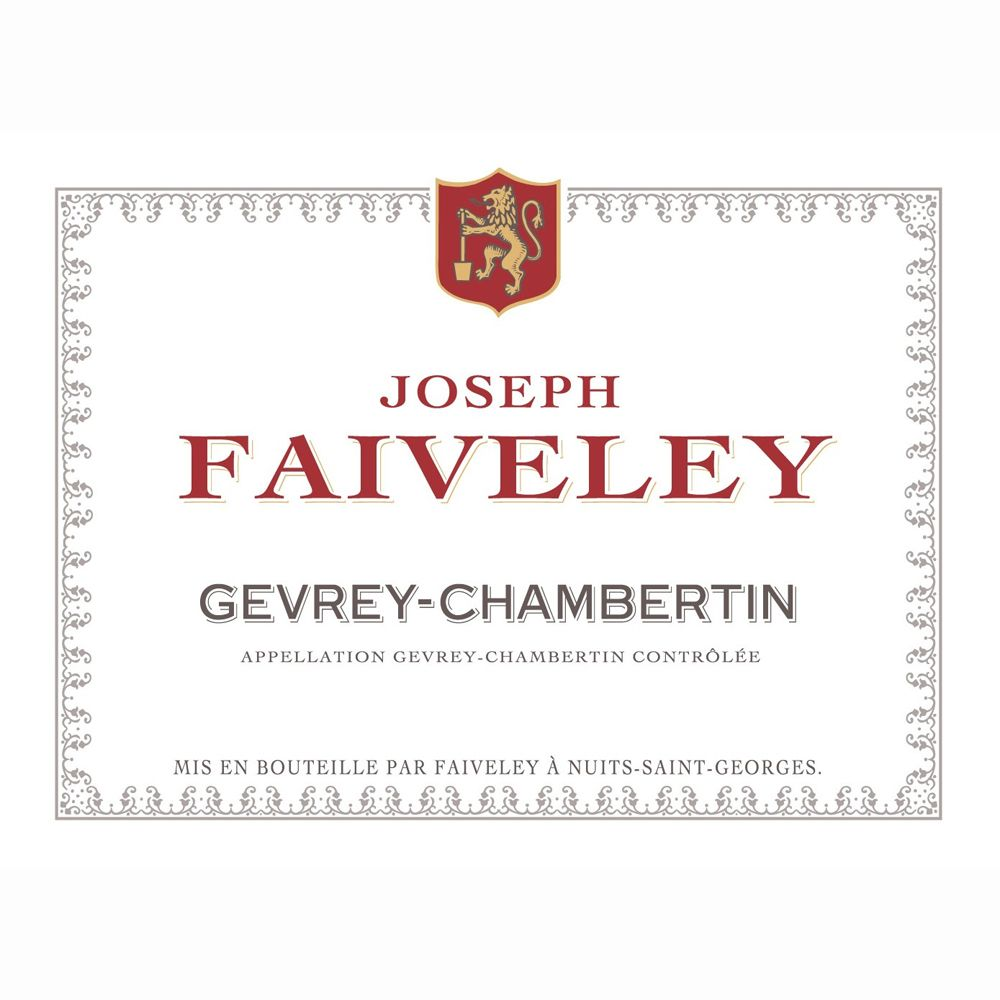 Domaine Faiveley Gevrey-Chambertin 2010 Front Label