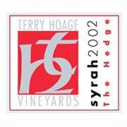 Terry Hoage The Hedge Syrah 2002 Front Label
