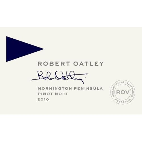 Robert Oatley Mornington Peninsula Pinot Noir 2010 Front Label