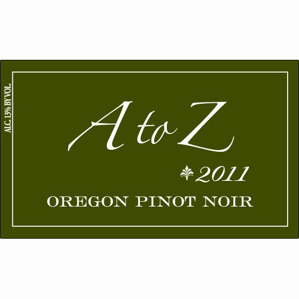 A to Z Pinot Noir 2011 Front Label
