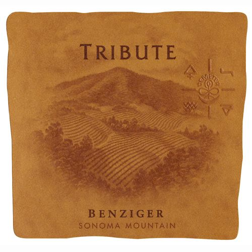 Benziger Tribute 2008 Front Label