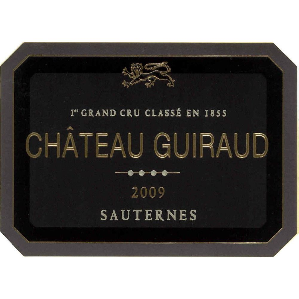Chateau Guiraud Sauternes (375ML half-bottle) 2009 Front Label