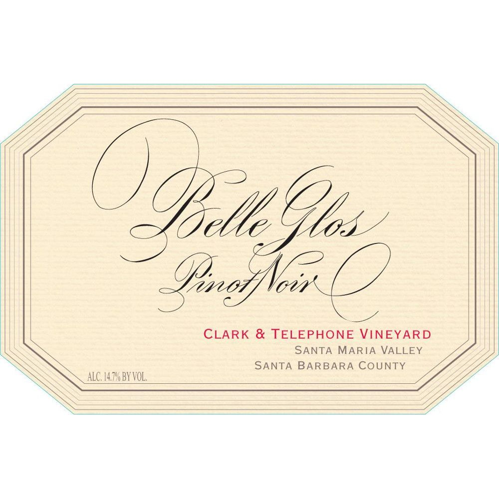 Belle Glos Clark and Telephone Vineyard Pinot Noir (1.5 Liter Magnum) 2010 Front Label