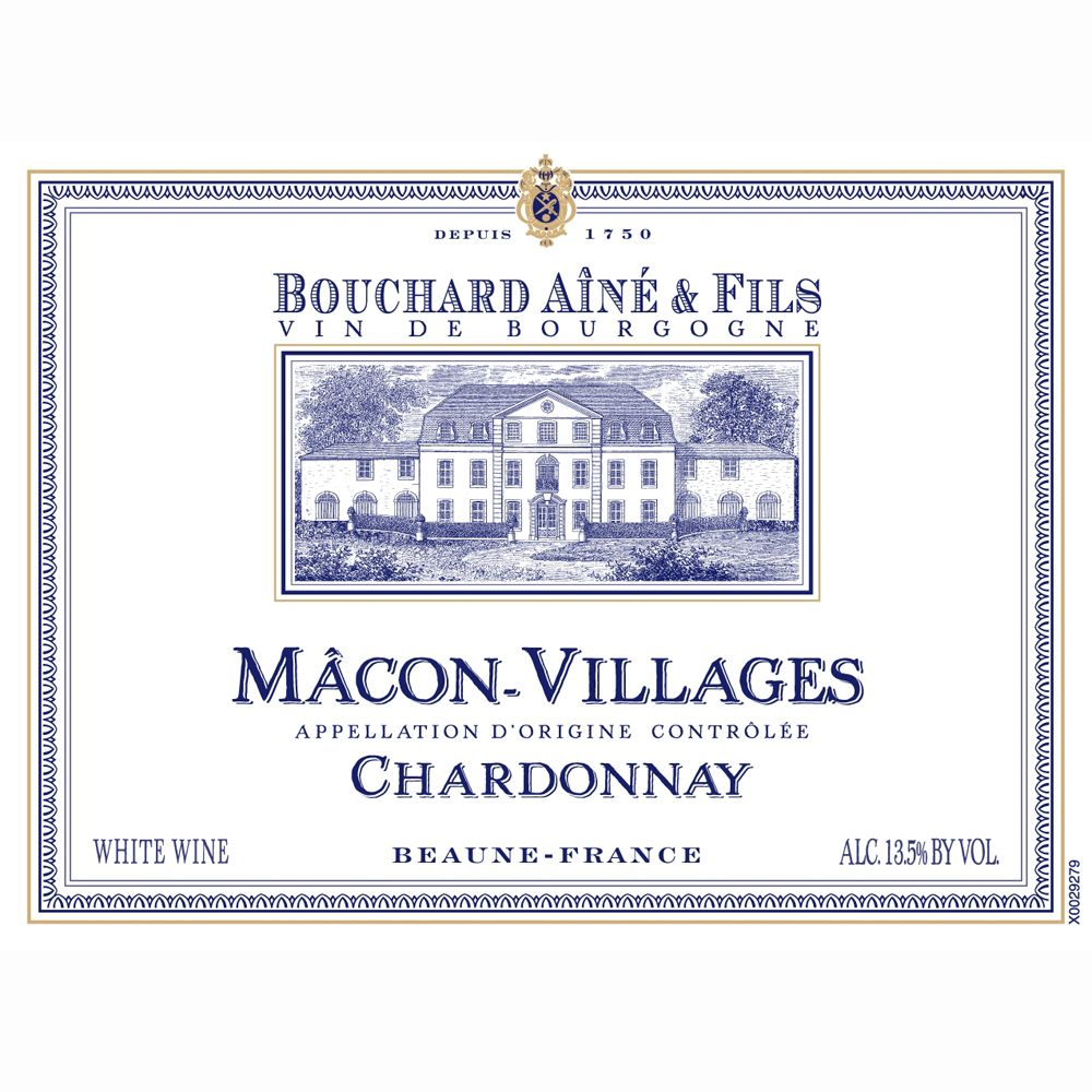 Bouchard Aine & Fils Macon-Villages 2011 Front Label