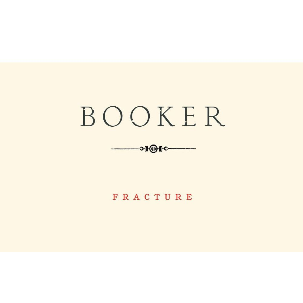 Booker Vineyard Fracture Syrah 2010 Front Label