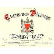 Clos des Papes Chateauneuf-du-Pape (375ML half-bottle) 2003 Front Label