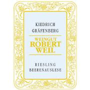 Robert Weil Kiedrich Grafenberg Beerenauslese (375ML) 2003 Front Label