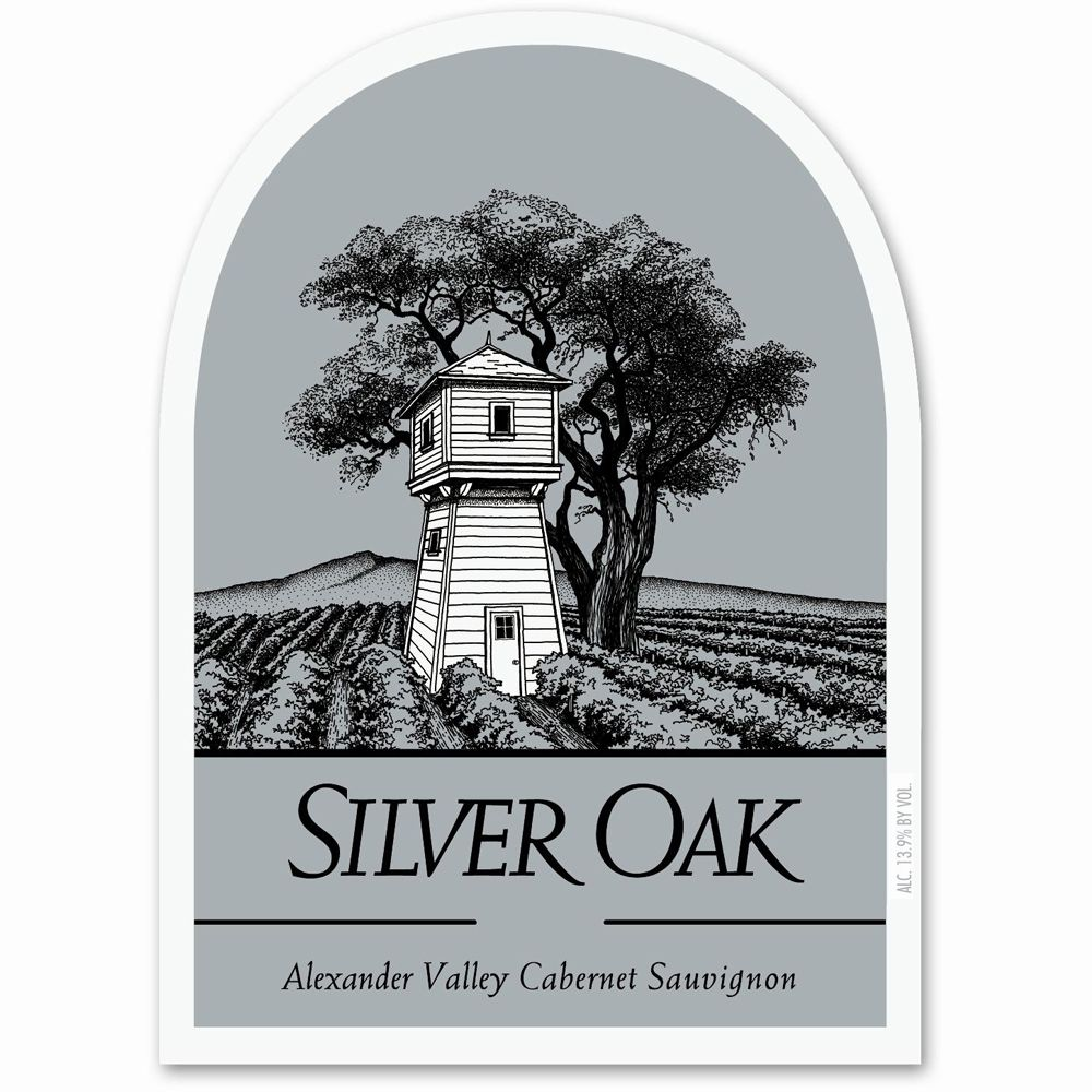 Silver Oak Alexander Valley Cabernet Sauvignon (3 Liter Bottle) 2008 Front Label