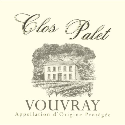Clos Palet Vouvray 2011 Front Label