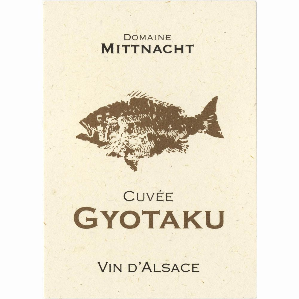 Domaine Mittnacht Freres Gyotaku 2011 Front Label