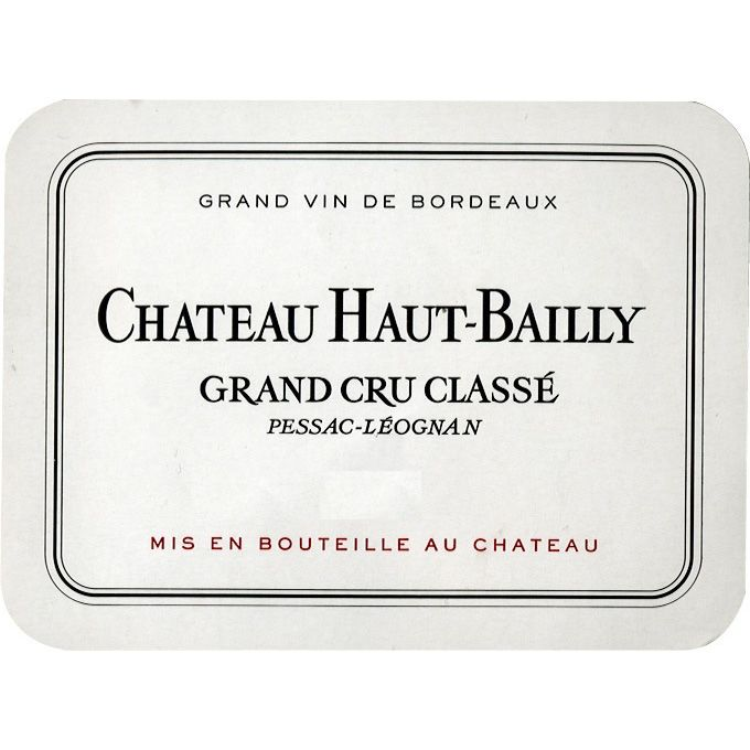Chateau Haut-Bailly  2010 Front Label