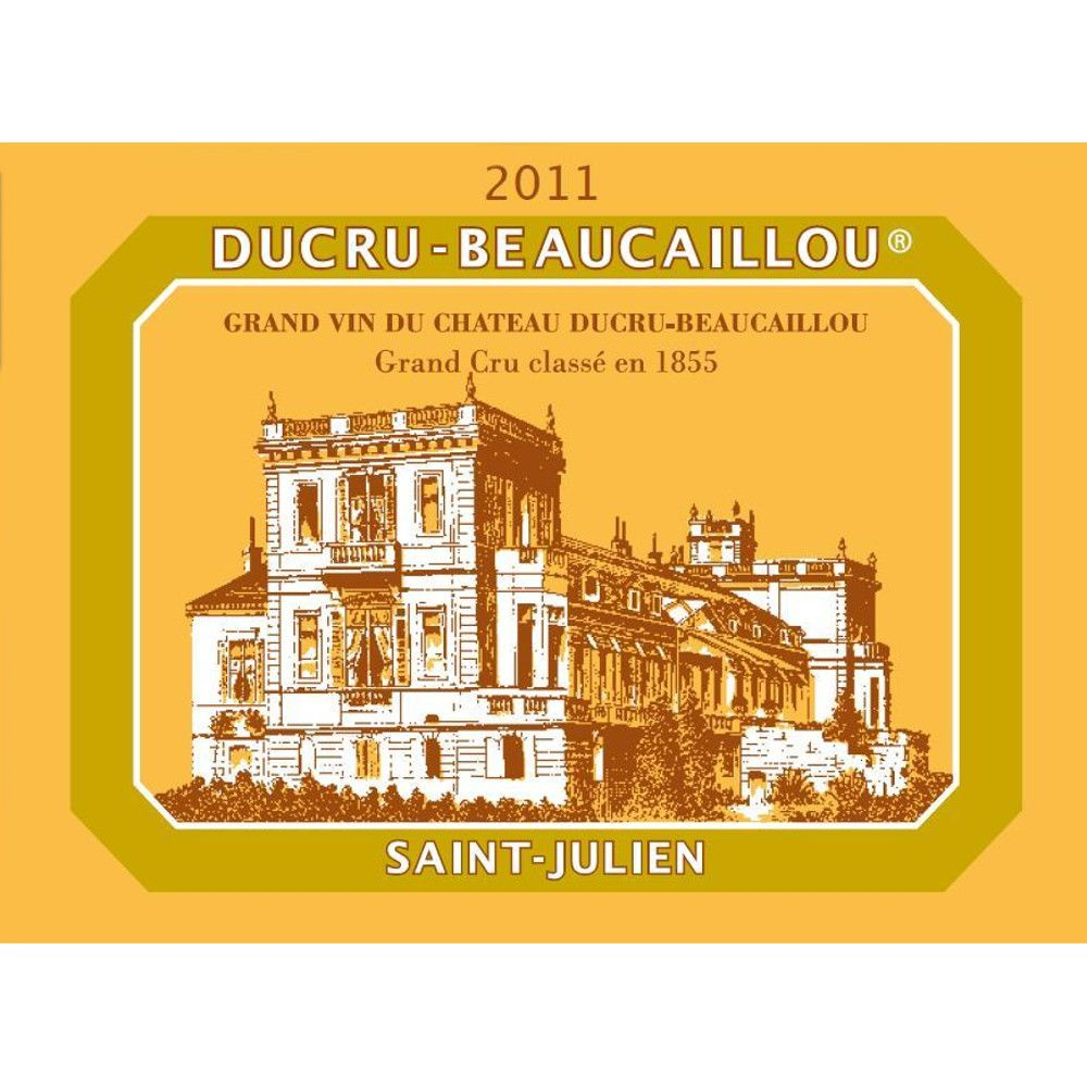 Chateau Ducru-Beaucaillou  2011 Front Label