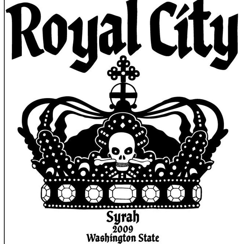 Charles Smith Wines Royal City Syrah 2009 Front Label