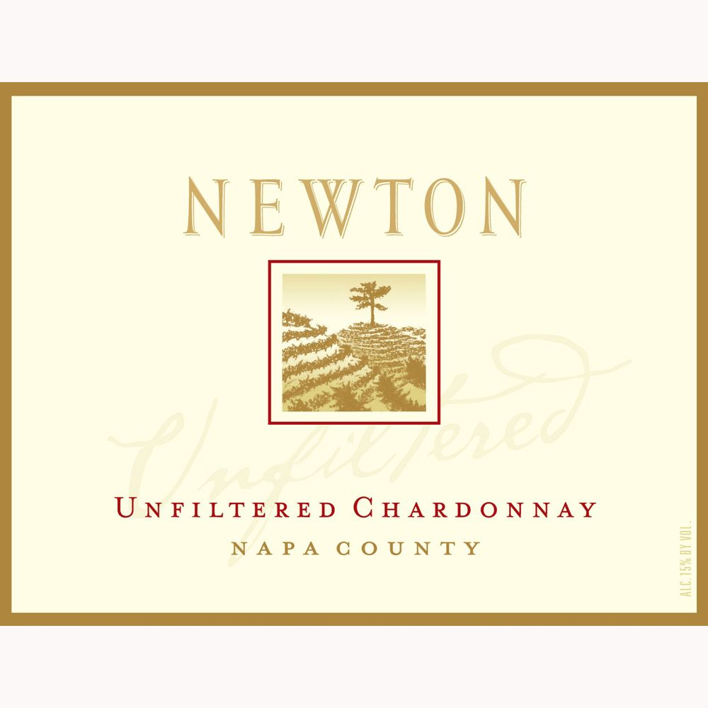 Newton Unfiltered Chardonnay 2010 Front Label