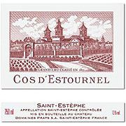 Chateau Cos d'Estournel (3 Liter Bottle) 2000 Front Label