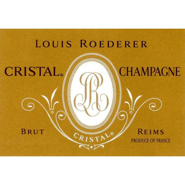 Louis Roederer Cristal Brut (3 Liter Bottle) 1999 Front Label