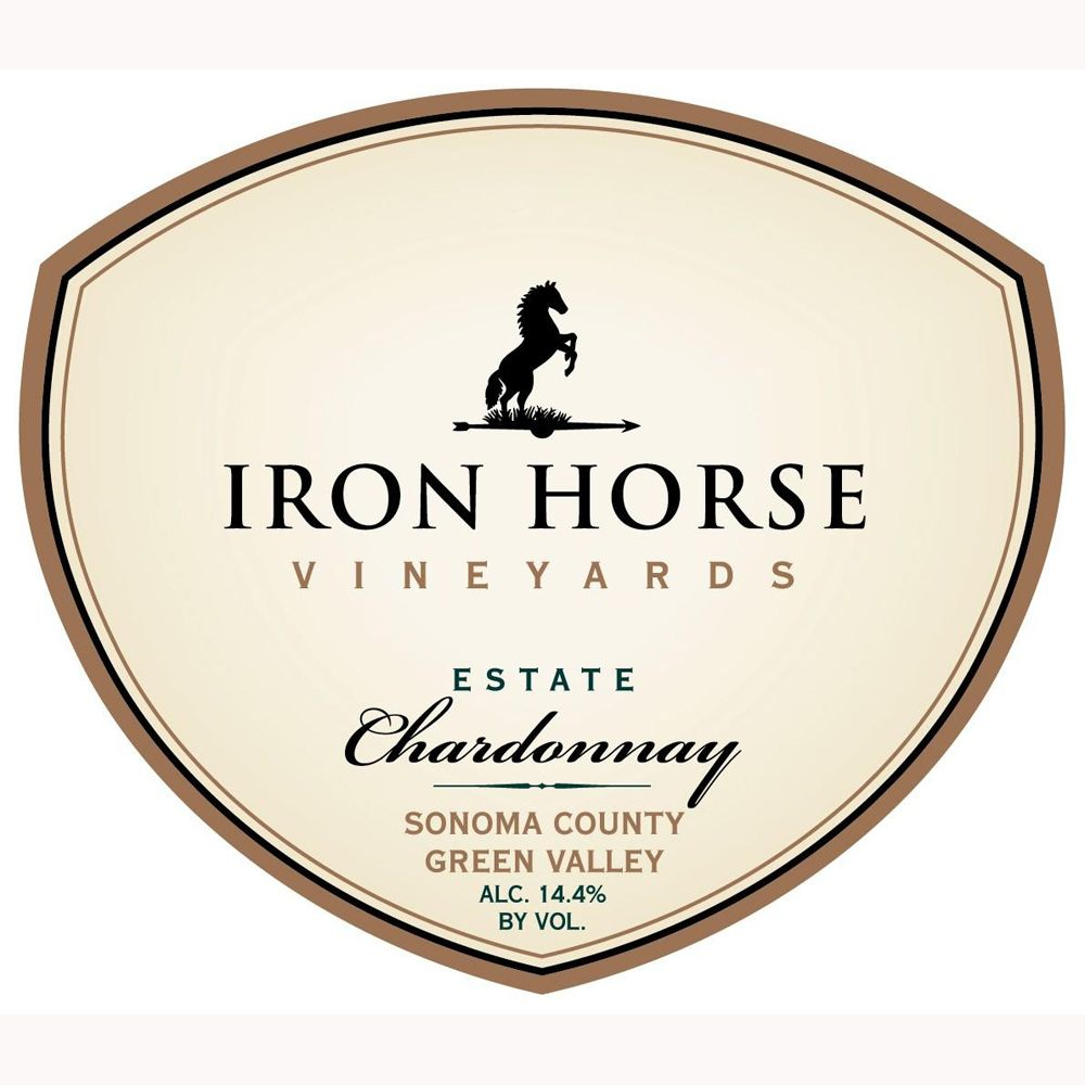Iron Horse Estate Chardonnay 2011 Front Label