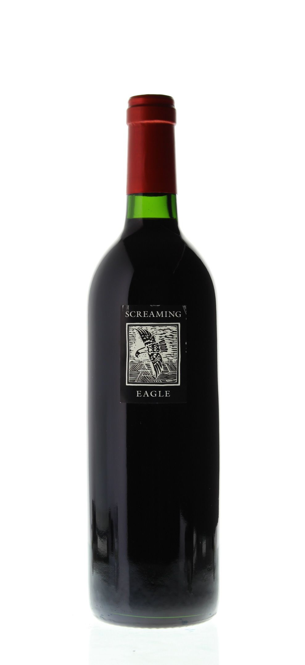 Screaming Eagle Cabernet Sauvignon (inaugural vintage) 1992 Front Bottle Shot