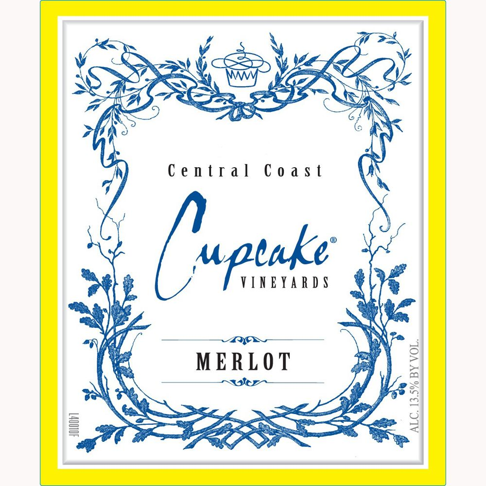 Cupcake Vineyards Merlot 2011 Front Label