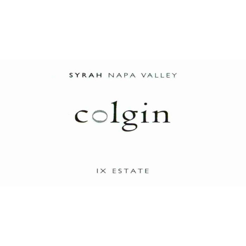 Colgin IX Estate Syrah 2009 Front Label