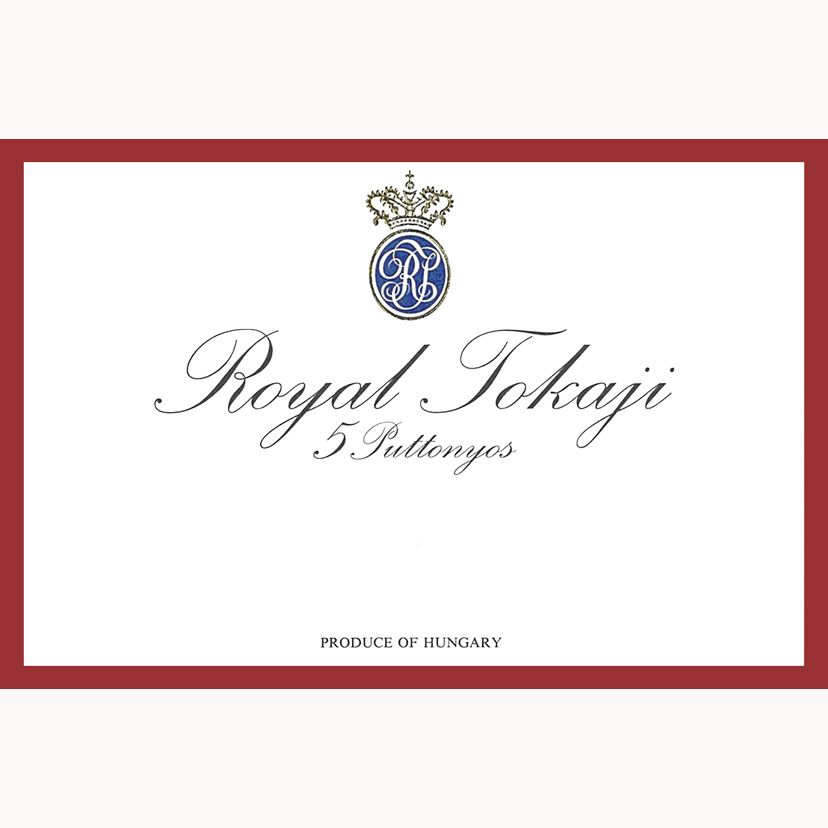 Royal Tokaji 5 Puttonyos (Red Label) (500ML) 2008 Front Label