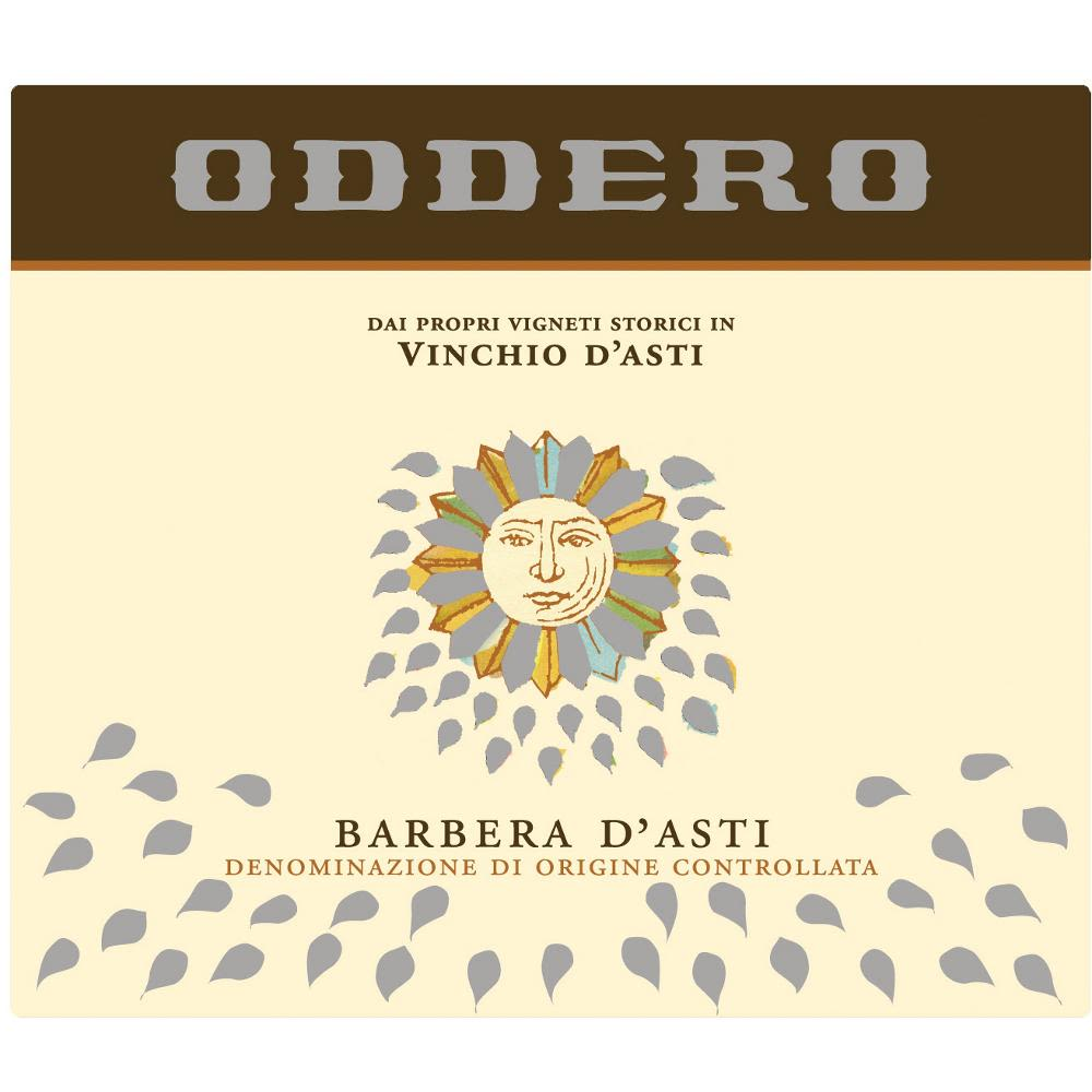 Oddero Barbera d'Asti Vinchio 2008 Front Label