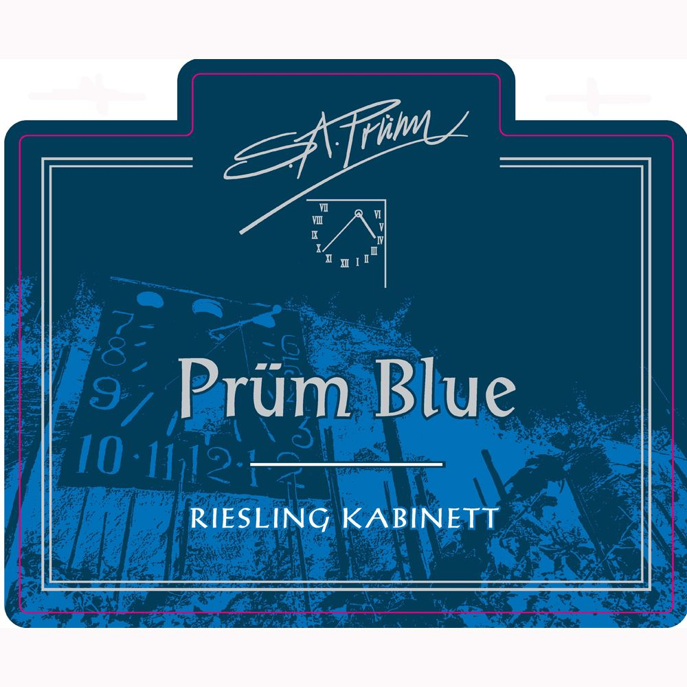 S.A. Prum Blue Riesling Kabinett 2010 Front Label