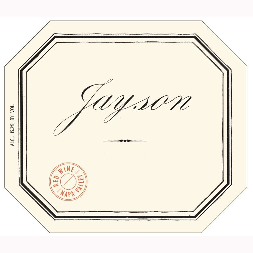 Pahlmeyer Jayson Red 2010 Front Label