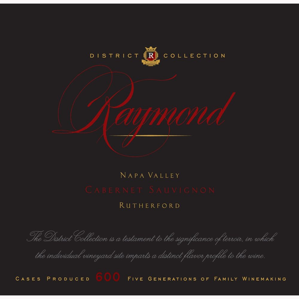 Raymond Rutherford Cabernet Sauvignon 2009 Front Label