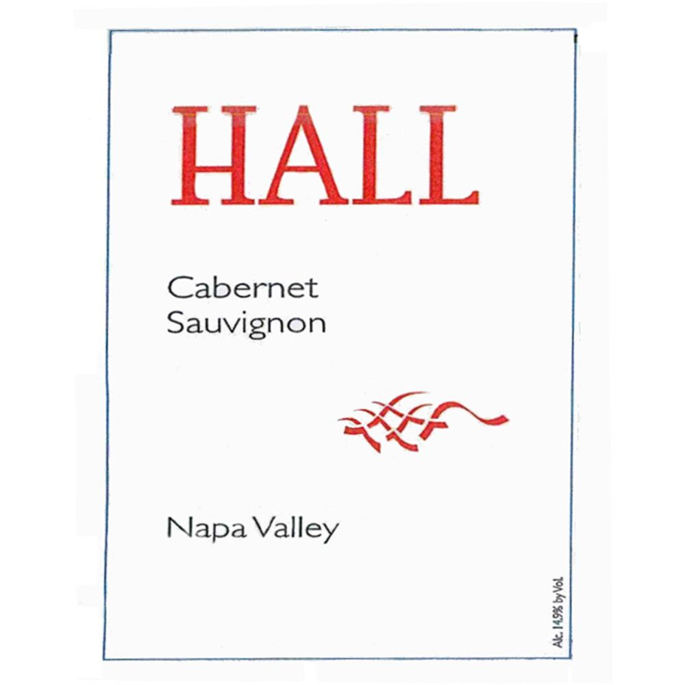 Hall Napa Valley Cabernet Sauvignon 2010 Front Label