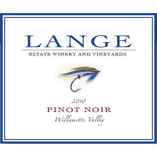 Lange Winery Willamette Valley Pinot Noir 2010 Front Label