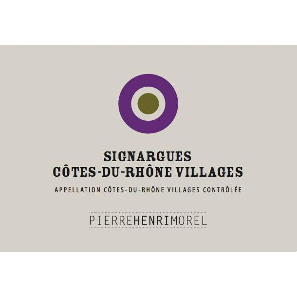 Pierre Henri Morel Cotes Du Rhone Villages Signargues 2009 Front Label