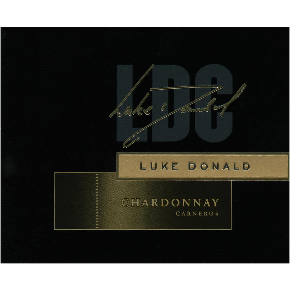 Luke Donald Collection Chardonnay 2011 Front Label