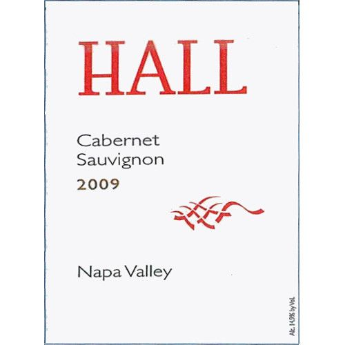 Hall Napa Valley Cabernet Sauvignon (375ML half-bottle) 2009 Front Label
