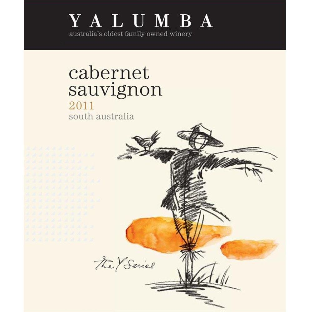 Yalumba Y Series Cabernet Sauvignon 2011 Front Label