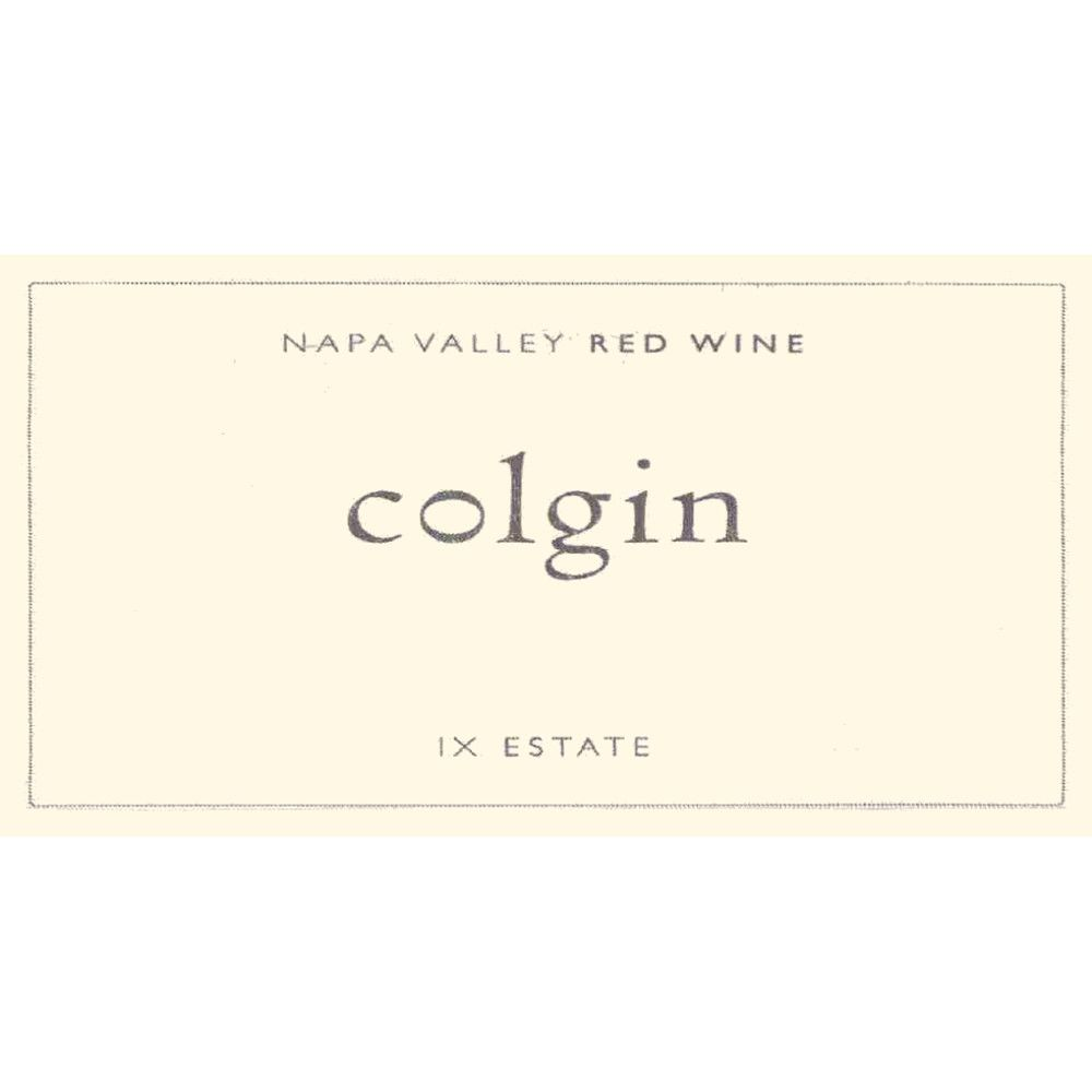Colgin IX Estate Red 2009 Front Label
