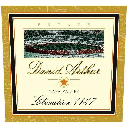 David Arthur Elevation 1147 Estate Cabernet Sauvignon 2001 Front Label