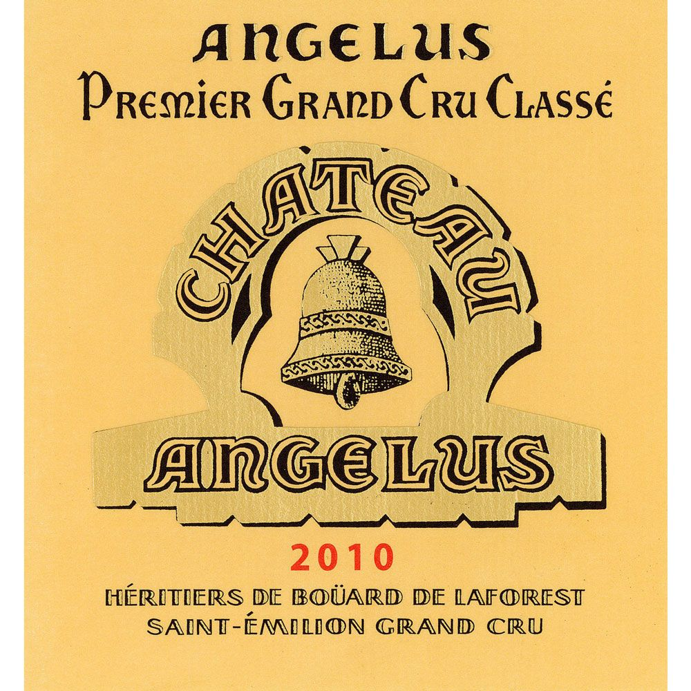 Chateau Angelus  2010 Front Label