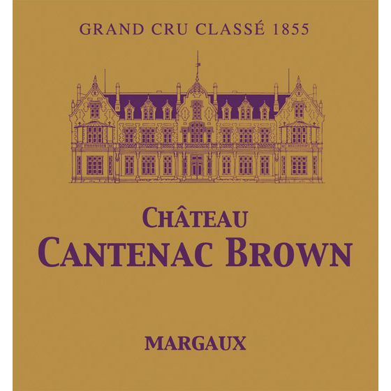 Chateau Cantenac Brown  2010 Front Label