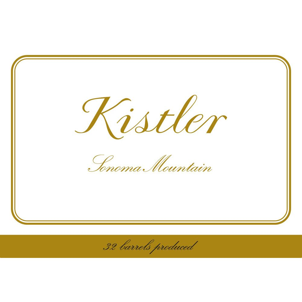 Kistler Vineyards Sonoma Mountain Chardonnay 2011 Front Label