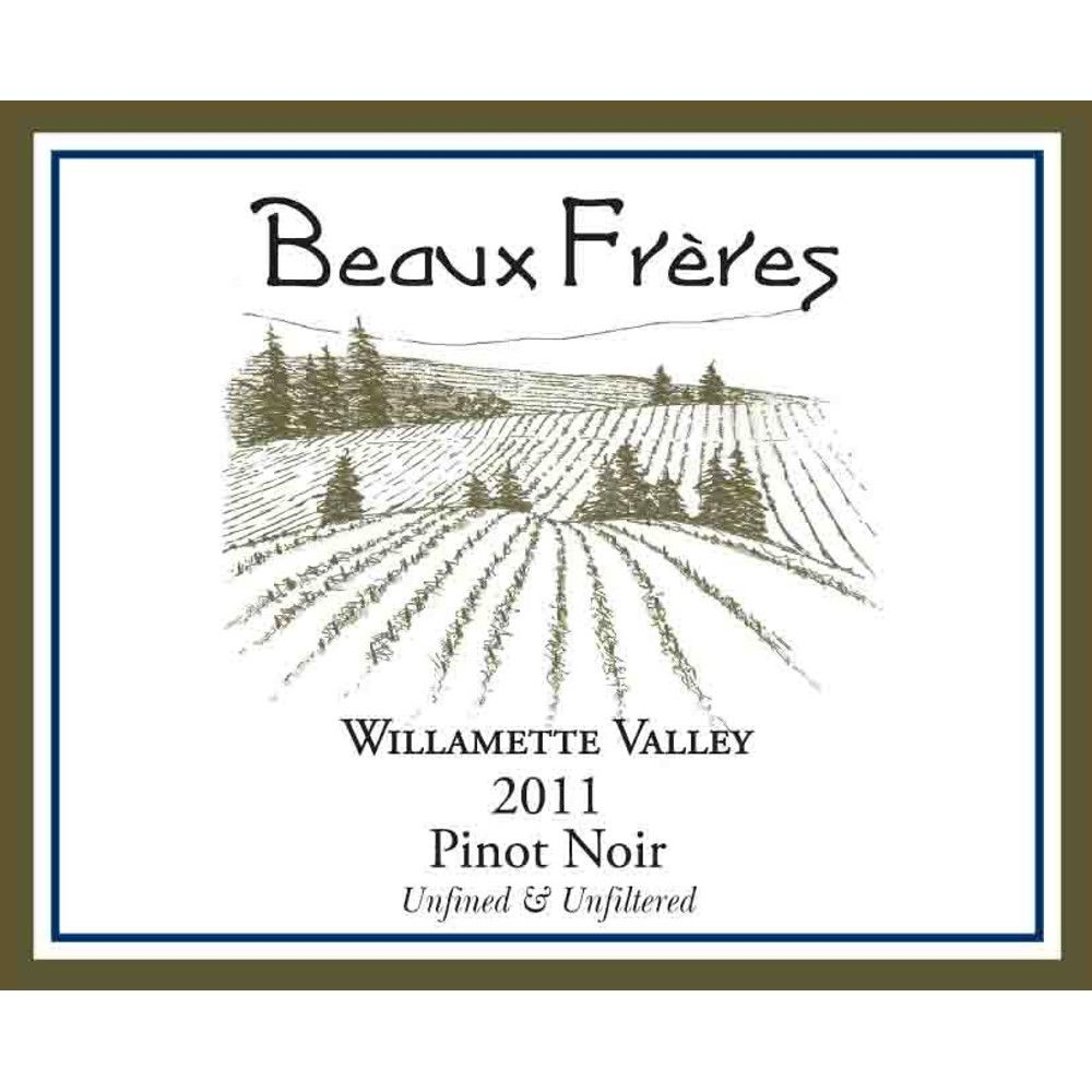 Beaux Freres Willamette Valley Pinot Noir 2011 Front Label