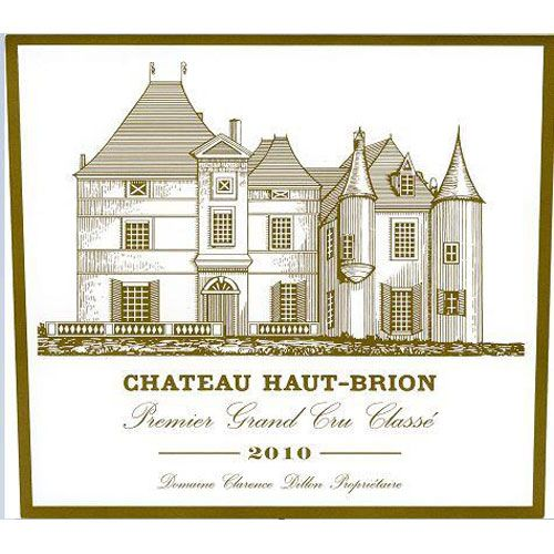 Chateau Haut-Brion  2010 Front Label