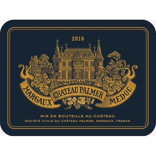 Chateau Palmer  2010 Front Label