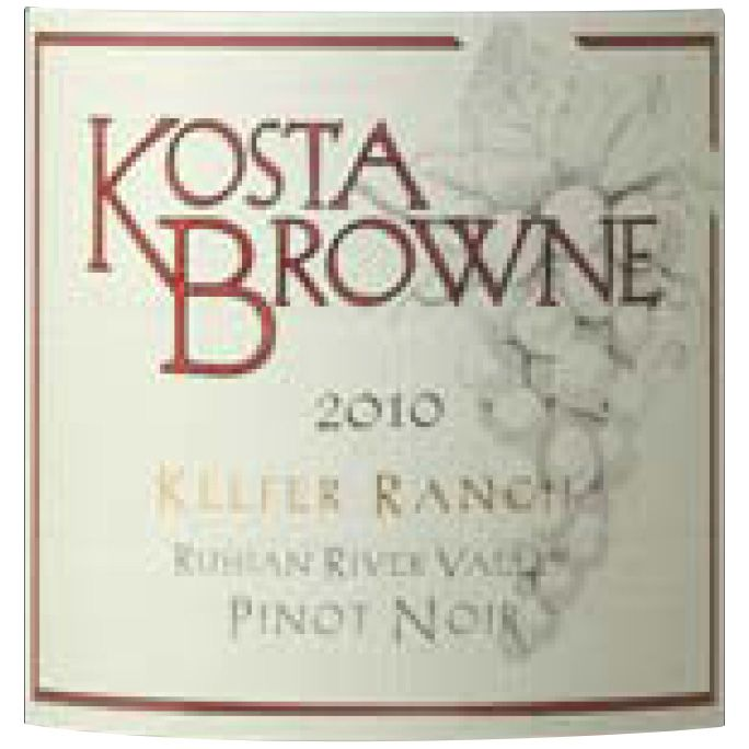 Kosta Browne Keefer Ranch Vineyard Pinot Noir 2010 Front Label