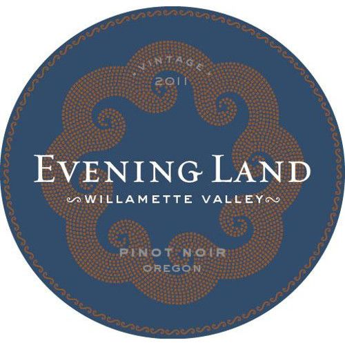 Evening Land Willamette Valley Pinot Noir 2011 Front Label